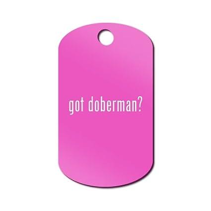 Got Doberman grabado llavero/GI etiqueta Mister Petlife # 2 ...