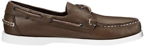 Marrón Docksides Elk Brown Bleues Sebago Leather wU1HqttT