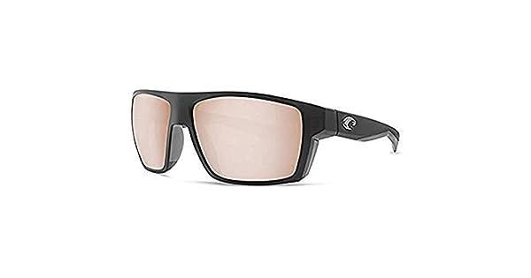 Amazon.com: costa del mar Bloke anteojos de sol Negro Mate ...