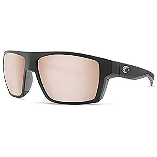 dc661030ef Costa Del Mar Costa Del Mar BLK124OSCGLP Bloke Copper Silver Mirror 580G  Matte Black + Matte Gray Frame Bloke
