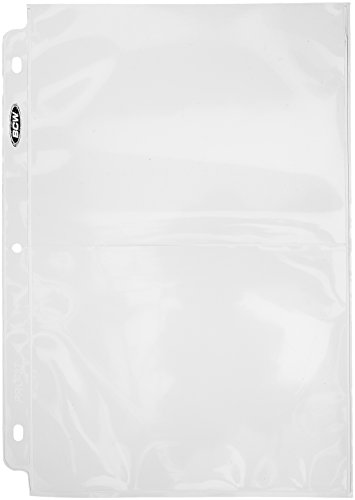Pro 2-Pocket Photo Page Sleeve, 71/8