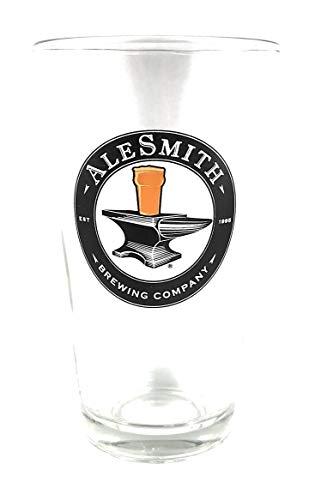 (AleSmith Brewing Company Logo Pint Glass)