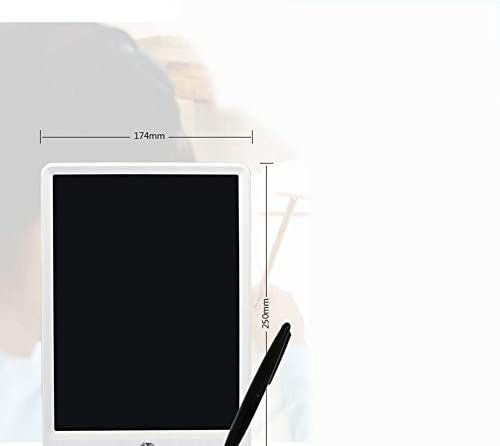 BOBIDYEE 子供用おもちゃハイライト太いペン10インチLCDライティングボード子供用絵画オフィスドラフト電子液晶タブレットライティングタブレット (色 : オレンジ)