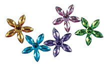 Sparkle Gems Large Flower (10) by Hero Arts