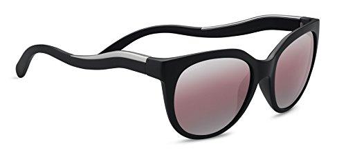 Serengeti Lia Sunglasses Satin Black/Satin Silver, Lens
