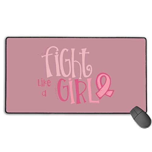 GGlooking Mousemat Fight Girl Mouse Pad Gaming Mat Computer Mousepad Large Non-Slip Keyboard Desk Accessories,Office & School Supplies -
