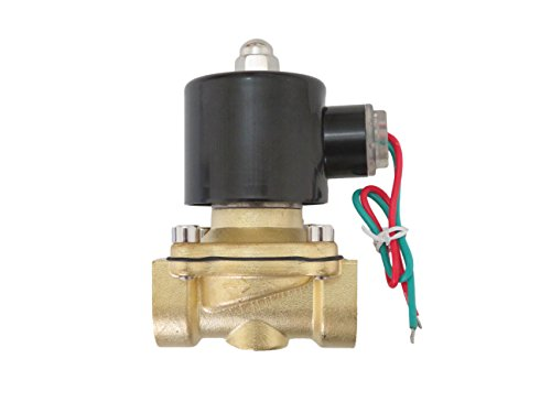 3/4 inch 220V-240V AC VAC Brass Electric Solenoid Valve NPT Gas Water Air N/C