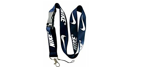 Sport Speciality Dark Blue Basketball Lanyard Keychain Holder