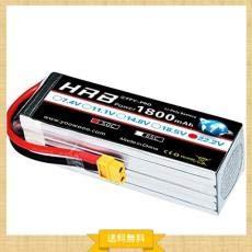 で最安値!HRB 1800mAh 6S 22.2V 50C リポバッテリー XT60プラグ付き SAB380 Alig B07QJ6VW8J