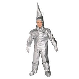 4 Man Group Costumes (Tin Man Costume - Toddler)