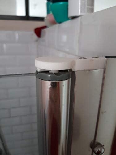 Bisagra para puerta de cabina de ducha Premium V2: Amazon.es: Bricolaje y herramientas