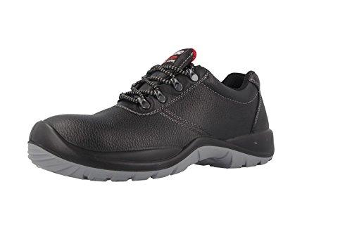 CRAFTLAND - Herren Sicherheits Halbschuhe S3 - Schwarz Schuhe in Übergrößen