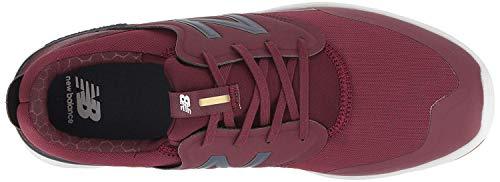Skate Shoe, Burgundy/Navy
