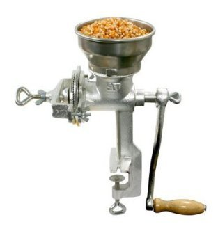 Amazon.com: NEW HEAVY-DUTY CAST IRON MANUAL CORN, NUTS, GRAIN MILL ...