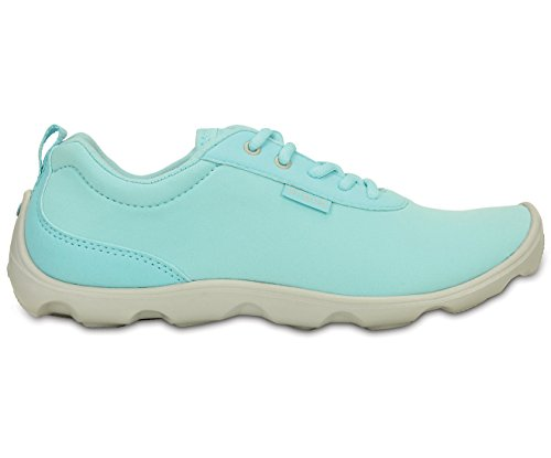 Crocs Duet Busy Day Lace-up Damen IBlu/Pwh W4