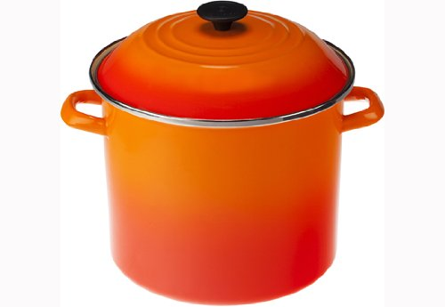 12 qt cast iron stock pot - 3