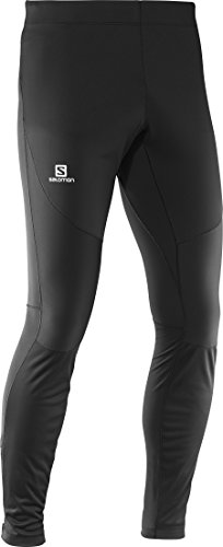 Salomon Men's Trail Runner WS Tight, Black, Large by Salomon (Image #3)
