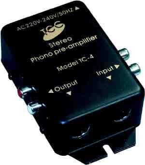 Phono Amplificador para Tocadiscos a PC: Amazon.es: Electrónica