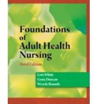 Foundations Of Adult Health Nursing 3Ed With Cd (Pb 2011)