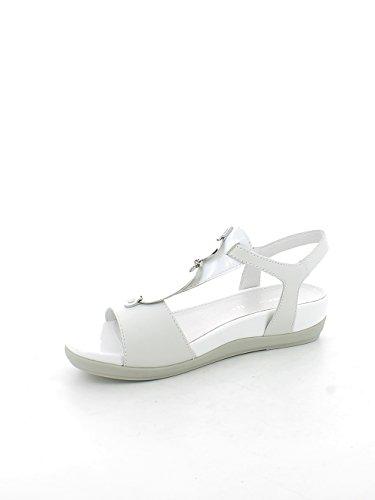 Stonefly 108211 Sandalo Donna Pelle BIANCO BIANCO 38