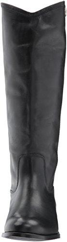 Women's Calf Boot Extended Black Riding Button Calf Extended Melissa 2 FRYE pxqdXnBnU