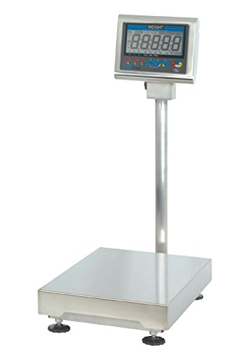 Scale Bench Digital Washdown - Yamato, DP-6700-150, Digital Washdown Bench Scale, 150 lb x 0.05 lb, NTEP