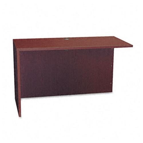 basyx by HON BL Laminate Series Return Shell for Office, 48.25w x 24d x 29h, Mahogany (HBL2145) by basyx by HON