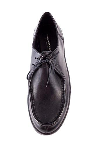 VB Zapatos 253 Negro de Negro 001 Piel 001 de 4240 para Cordones Lisa Mujer Vagabond 4240 AqdxwA