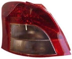2011 toyota yaris rear tail light lamp