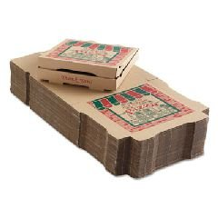 ARV9124314 - Arvco Corrugated Pizza Boxes, 12w X 12d X 1 3/4h, Kraft