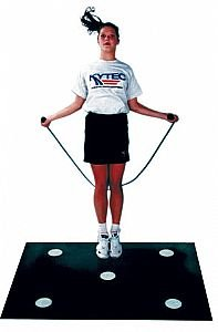 Dot Mat - Improves Foot Quickness, Agility and Reaction Time - 5 Dots