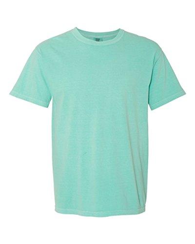 (Chouinard Men's Ring-Spun Garment-Dye Bottom Hem T-Shirt_Chalky Mint PgmDye_3XL)