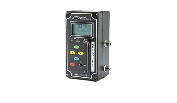 Advanced Instruments GPR-1100 PPM Oxygen Analyzer PPM: Amazon.com: Industrial & Scientific