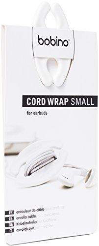 Bobino Cord Wrap - Small - White - Stylish Cable and Wire Management / Organizer