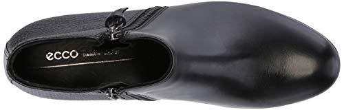 Black Mujer M Shape 35 para Botines 51052 Ecco Negro wXB0UqUx