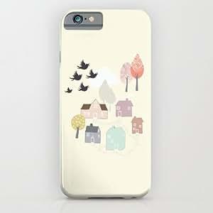 Society6 - 'den Lilla Staden' iPhone 6 Case by Viola Brun Designs