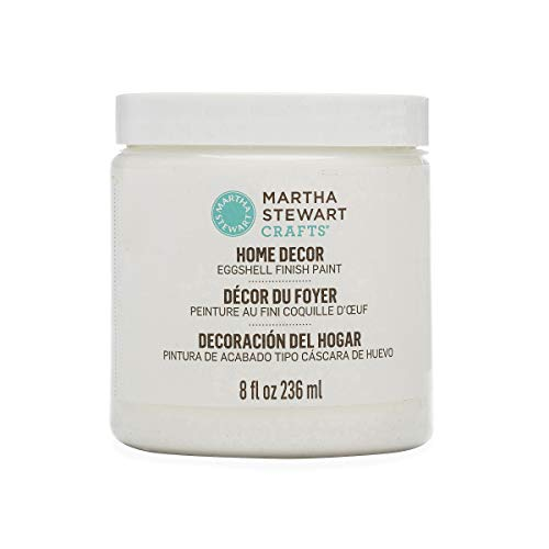 Martha Stewart Crafts Home Decor Eggshell Paint: Wedding Cake (8 Ounce)