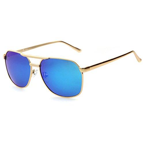 Espejo de Fascigirl de ProteccióN UV Lente Sol Gafas Gafas Blue Gafas Polarizadas de Hombre de para Aviador de Reflectante Sol Sol vrvqPwa