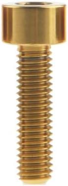 Tornillo de aleaci/ón de titanio M5x9 10 12 15 16 18 20 25 30 35 40 45 55 60 hexagonal para bicicleta Ruifu