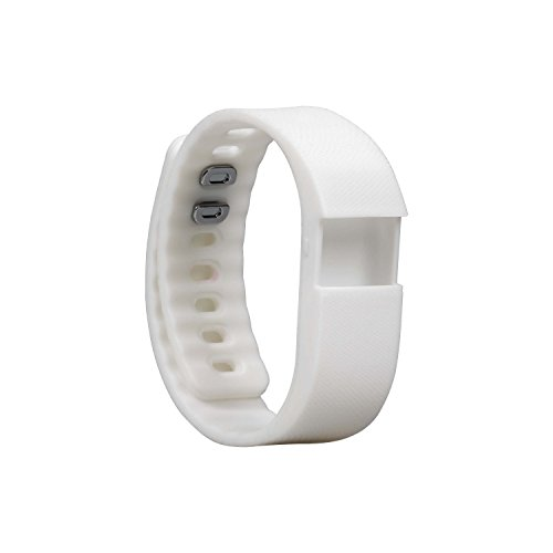 BlueWeigh replacement wirst band for activity tracker (white)