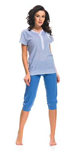 dn-nightwear - Pijama entero - para mujer azul real