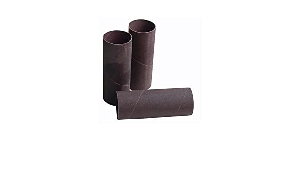 4 sleeves Jet 575943 5-1//2-Inch Long Aluminum-Oxide Hard Sanding Sleeve 3-Inch Diameter 100 Grit WMH Tool Group