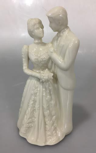 es Ivory Bride Groom & Cake Topper ()