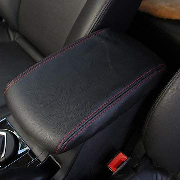 Microfiber Leather Car Center Console Arm Rest Cover Cushion for Toyota Highlander 2008-2013 - Interior Accessories Car Cushions -