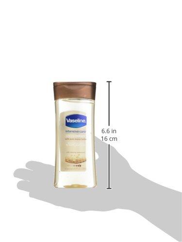 how to use vaseline body gel oil