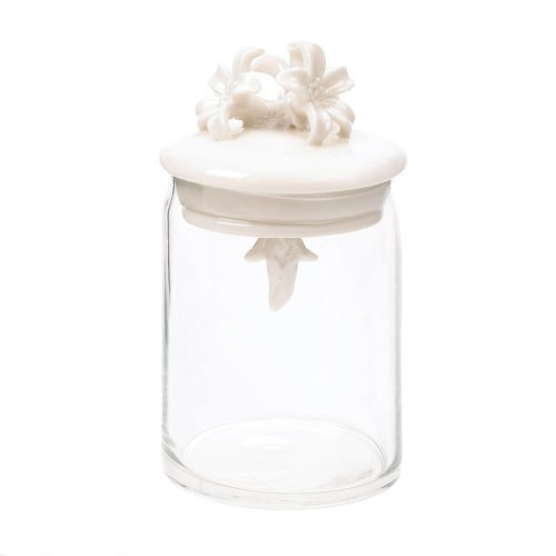 Flower Top Apothecary Jar