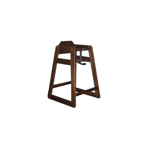 Old Dominion S-2 Walnut Finish Hardwood Oak High Chair by Old Dominion Wood Products