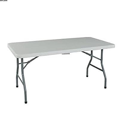 Terrific Mavi Plastic 6 Seater Foldable Dining Table Grey Pdpeps Interior Chair Design Pdpepsorg