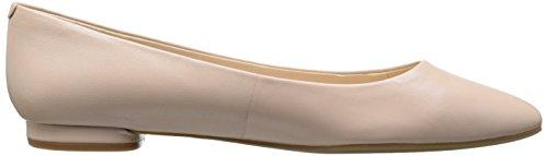 Nine West Onlee Ballet de cuero plano Pale Pink