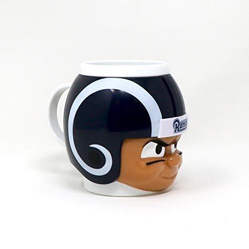 (Party Animal Officially Licensed NFL BMRM Los Angeles Rams Big Sip Drink Mug, 16oz, Multi)